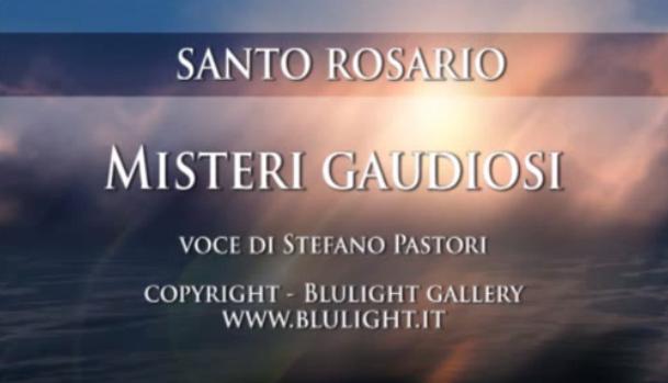 Santo Rosario – Misteri Gaudiosi