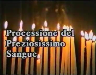 Riti della Settimana Santa Processione del Preziosissimo Sangue Venerdì Santo a Lucca